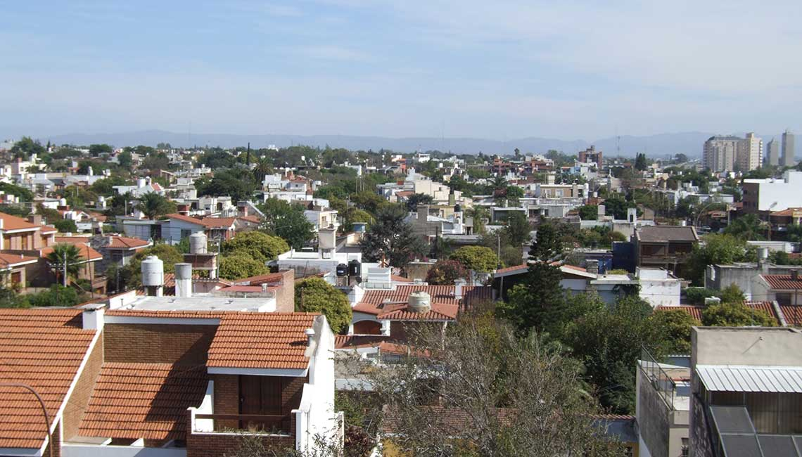 Over the roof of Córdoba