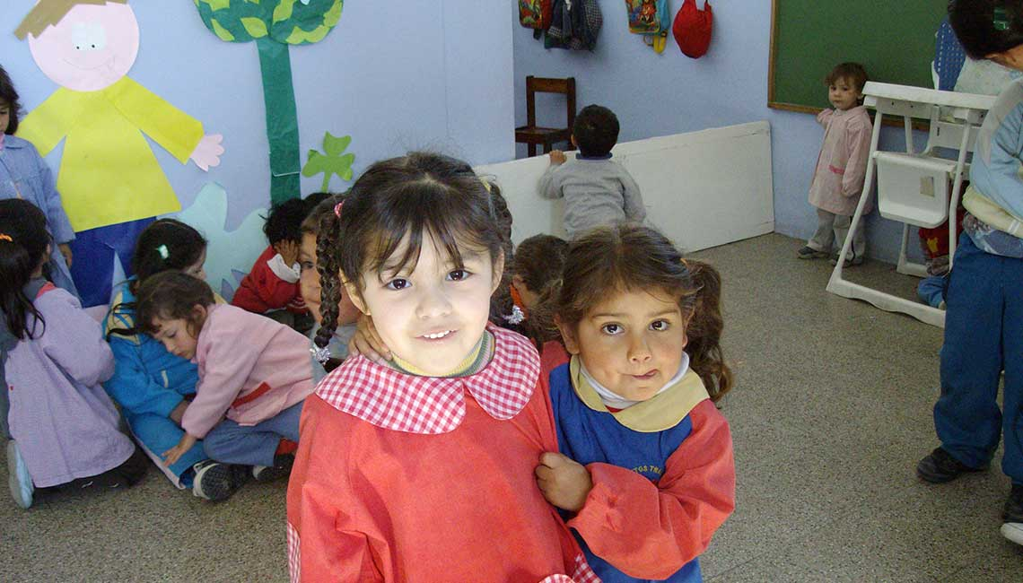 Social work with children in Argentina