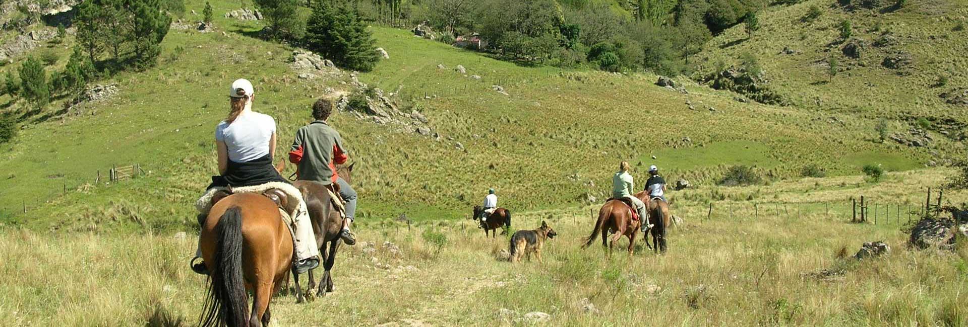 Horseback riding in the Sierras de Córdoba