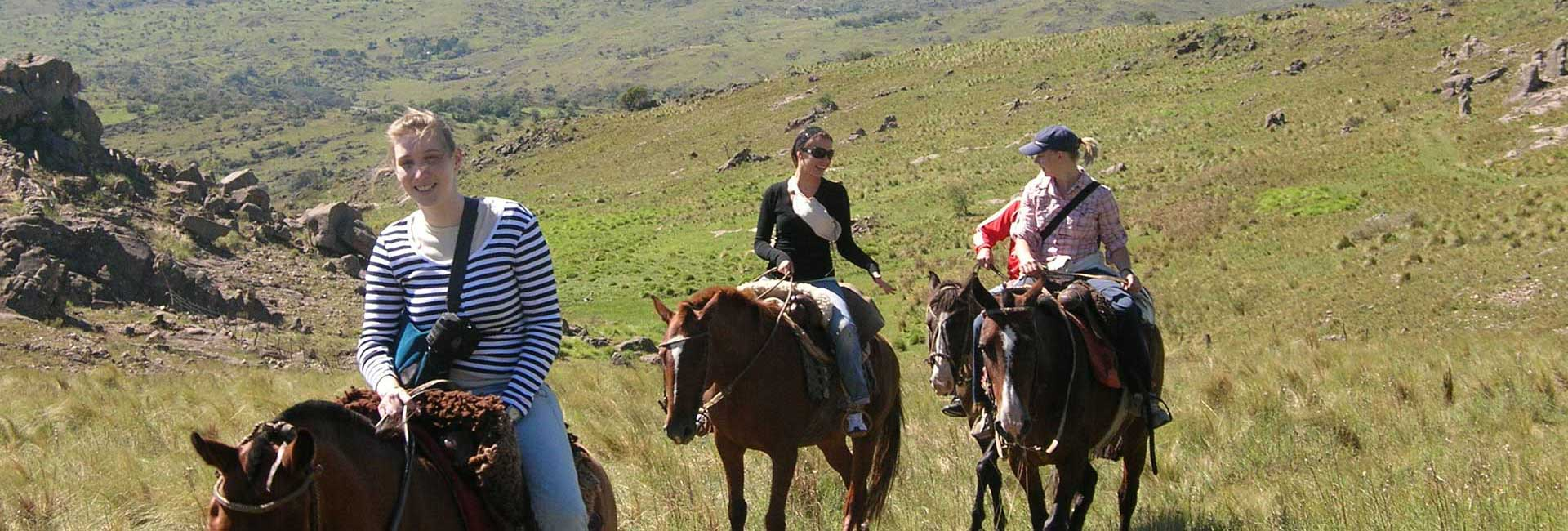 Excursion on a horseback