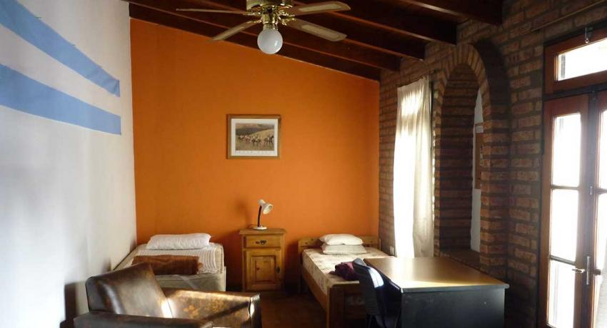 Dormitory in the volunteer house El Castillito