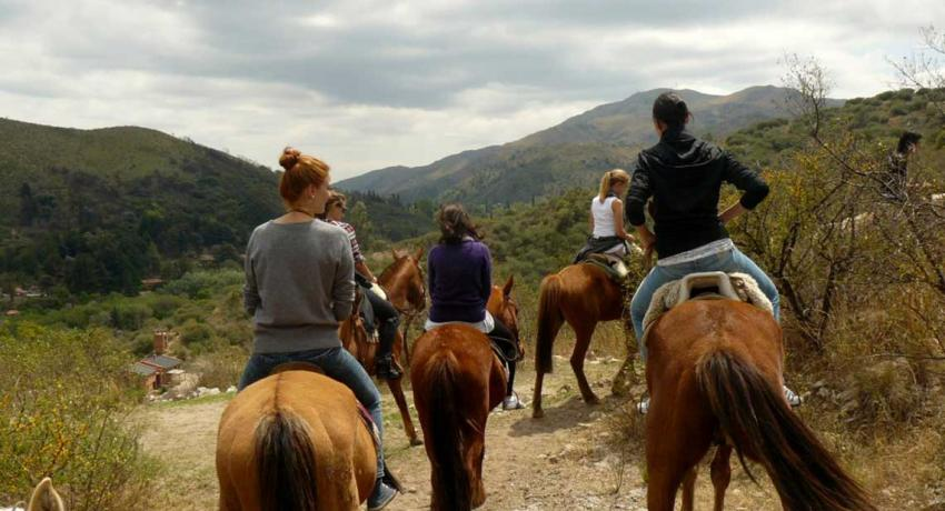 Horseback excursion