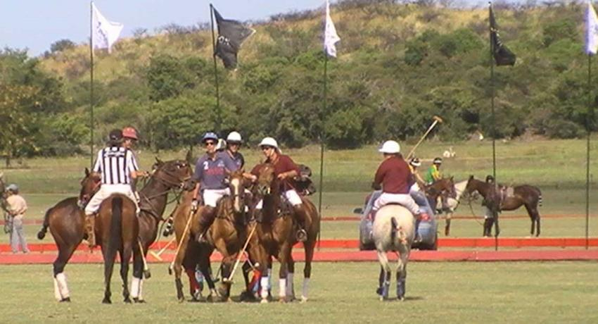 Polo Playing in Argentina