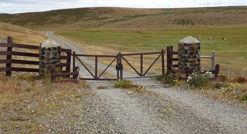 Estancia Entrance Gate