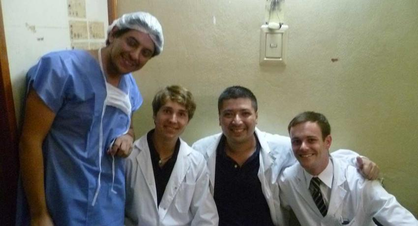 Doctors and Interns in Hospital