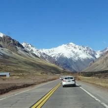 Crossing the Andes to Chile